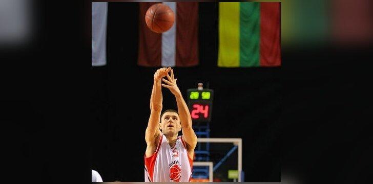 V.Sirvydis pelnė 18 taškų Čekijos pirmenybėse