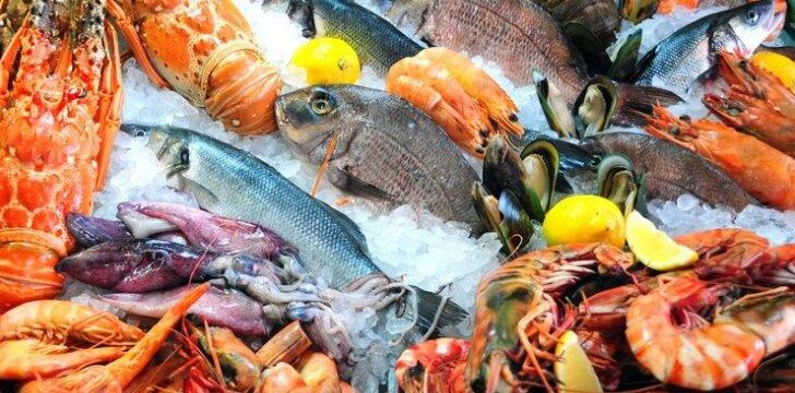 Kaip išsirinkti jūros gėrybes?