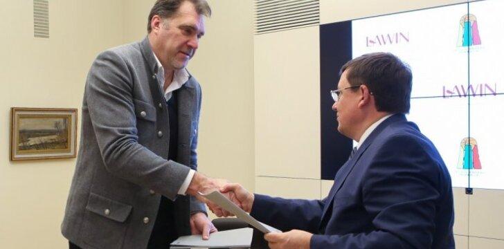 Sutartį su LAWIN pasirašiusi LKF: norime, kad rinktinei atstovautų geriausi žaidėjai