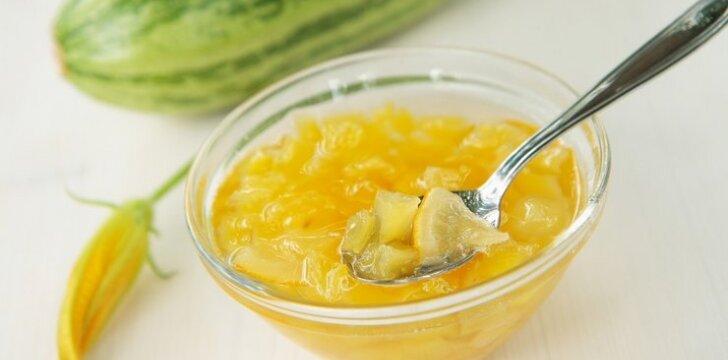 Aguročių ir apelsinų uogienė