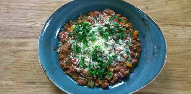 Troškinys Chili Con Carne