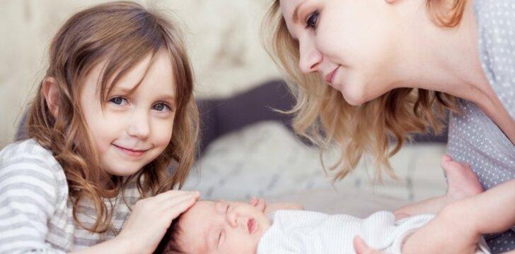 Pirmieji vaiko metai: svarbiausi raidos požymiai kiekvieną mėnesį