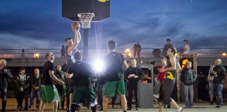 """""""Naktinis krepšinis 2013"""" tikisi sulaukti rekordinio dalyvių skaičiaus"""