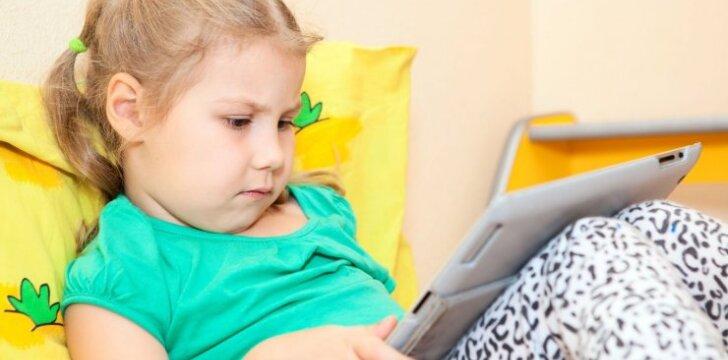 Gydytoja L. Šumskienė – apie vaikų sutrikimą, dėl kurio kaltas kompiuteris