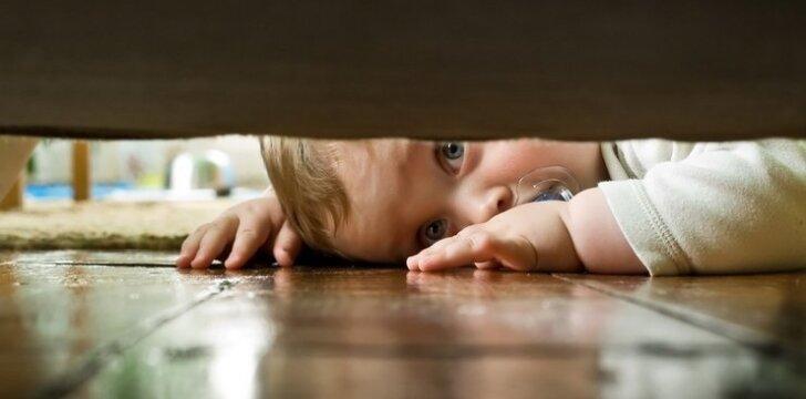 Kokie pavojai smalsių vaikų tyko namuose