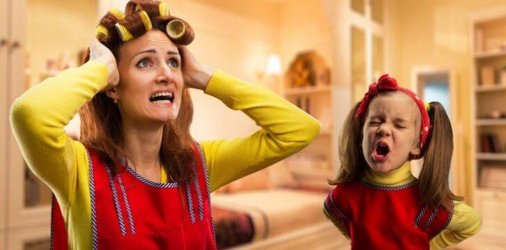 Kas iš tiesų nutinka, kai viena mama išvažiuoja atostogauti su trim vaikais