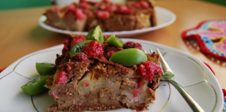Šventinis pyragas be glitimo