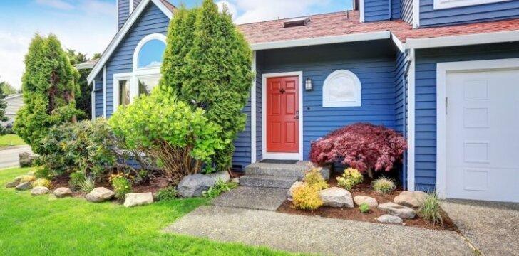 """<span style=""""color: #ff7f00;"""">Ekspertų diskusija:</span> apie aplinkos tvarkymą reikia galvoti dar nepradėjus statytis namo"""