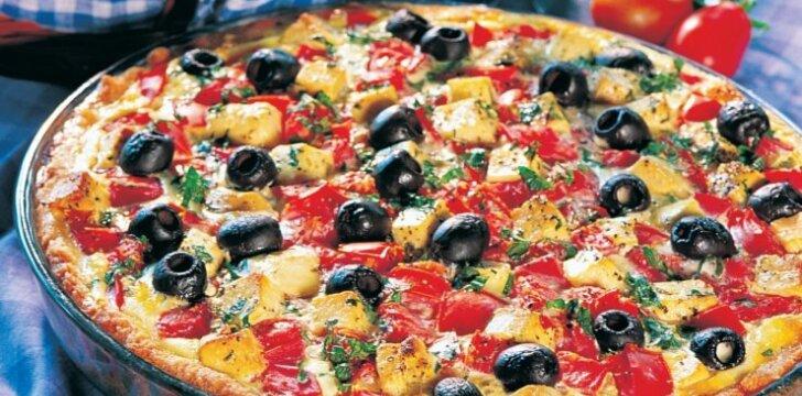 Graikiškas sūrio apkepas