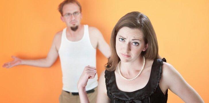 Moterys, kaltindamos vyrus egoizmu, turėtų būti sau kritiškesnės...