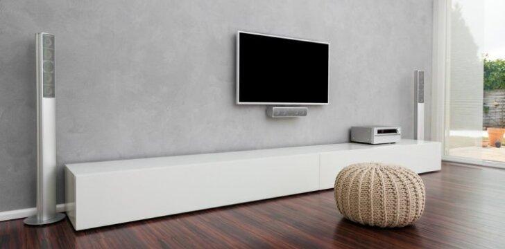 Televizorius ant sienos - kokių įrankių reikia ir kaip tai padaryti