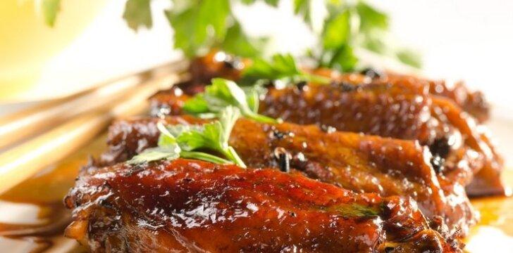Japoniškas vištienos sparnelių receptas