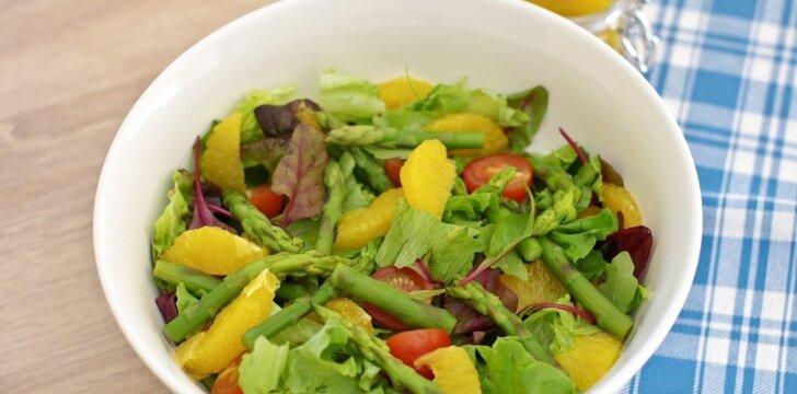 Gaivios smidrų salotos