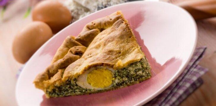 Tradicinis Urugvajaus pyragas - pasqualina