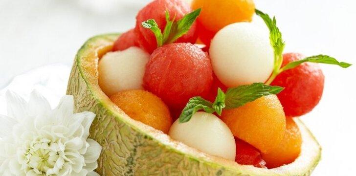 Arbūzų ir melionų salotos
