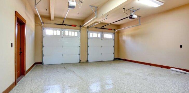 """<span style=""""color: #ff7f00;"""">Darau Pats:</span> būdas padengti jūsų garažo grindis"""