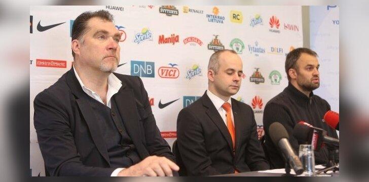 Arvydas Sabonis, K.Noreika ir Donatas Sabaliauskas