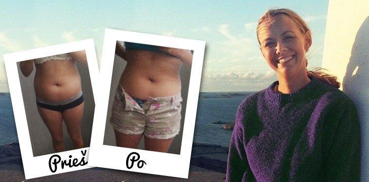 Išskirtinis interviu: jauna mamytė numeta 9 kg iškart po gimdymo