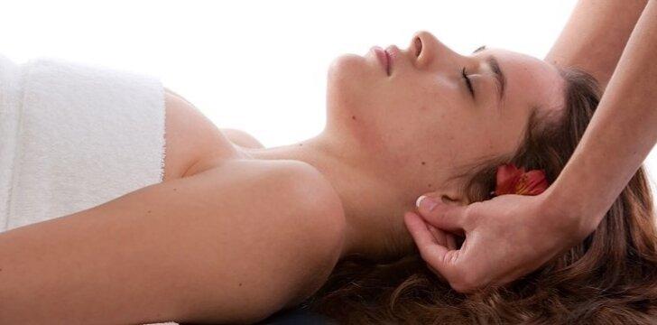 Minutės ausų masažas atpalaiduos ir suteiks naujos energijos.