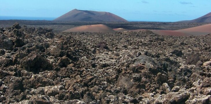 Timafaya vulkanėliai