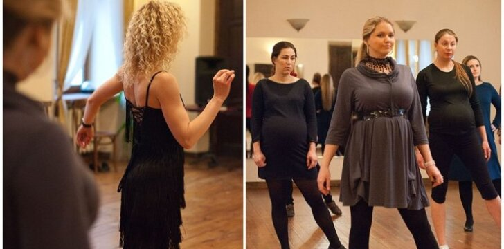 Gydytoja akušerė ginekologė Vilniuje kviečia nėščiąsias šokti
