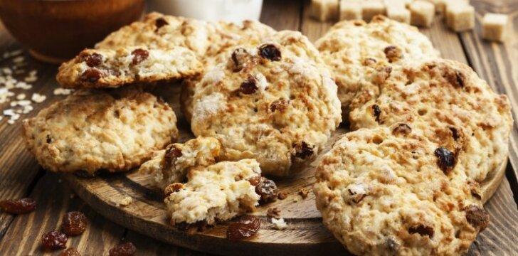 Avižiniai-kokosiniai sausainiai