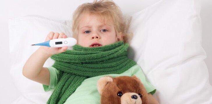 Kaip atskirti gripą nuo elementarios peršalimo ligos?