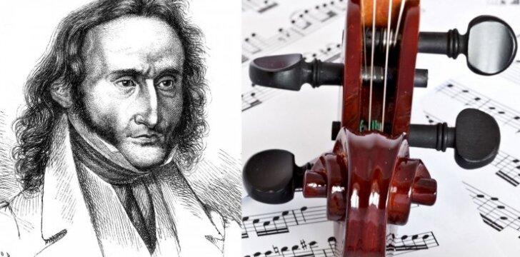 """Paganinio paslaptys: pasaulinė šlovė <span style=""""color: #c00000;"""">už velniui parduotą</span> sielą"""