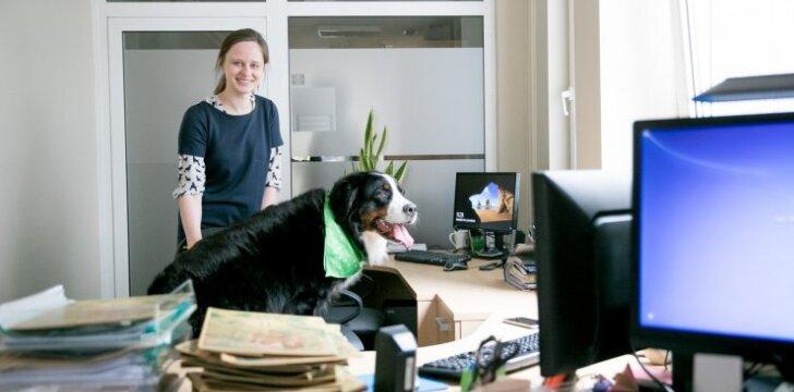 Šuns diena Registrų centre