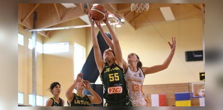 Merginų krepšinis: Lietuva U16 - Nyderlandai U16