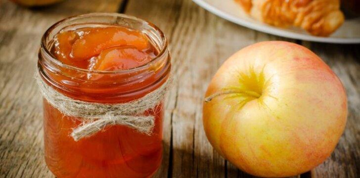 Pikantiška obuolių uogienė
