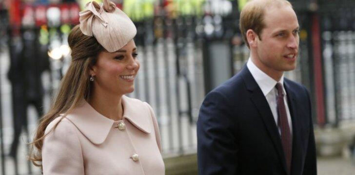Kate Middleton: iki gimdymo liko mėnuo