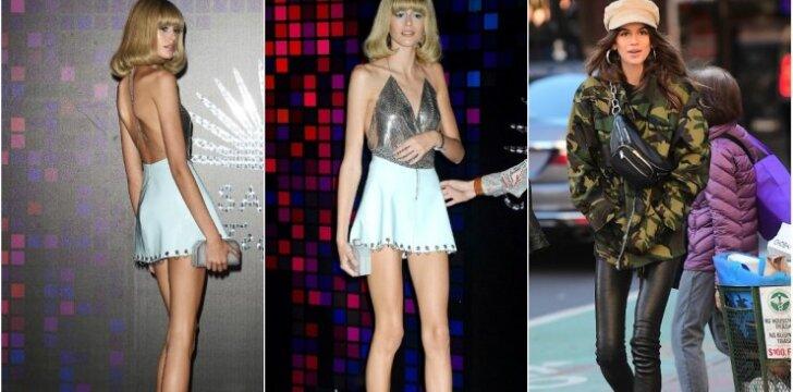 Pradėjusi modelio karjerą Cindy Crawford dukra tapo panaši į kaulų rinkinį