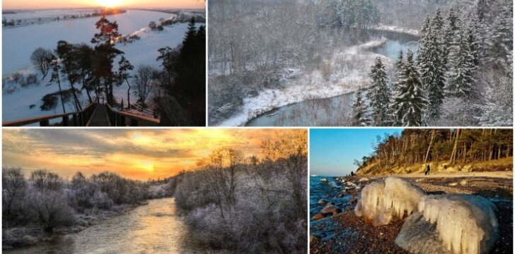 Valstybiniai parkai žiemą