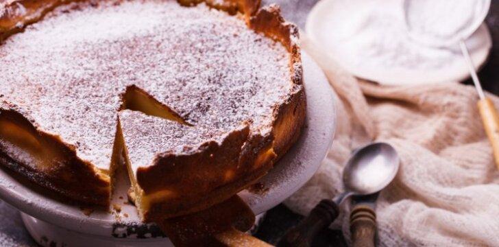 Creme Brulee pyragas