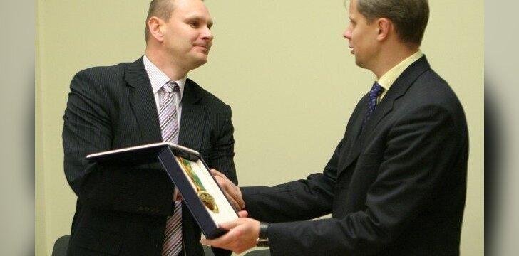 Mindaugas Špokas ir Andrius Kupčinskas