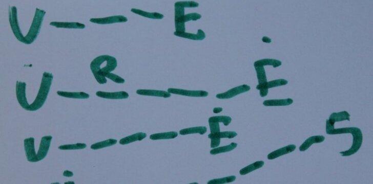 """Atspėk penkiametės žodį ir laimėk dovaną! <sup style=""""color: #ff0000;"""">SAVAITGALIO KONKURSAS</sup>"""