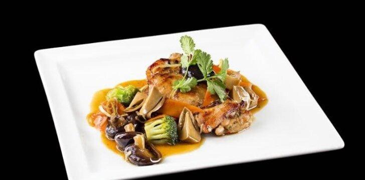 Tailandietiškas vištienos kokonatsu
