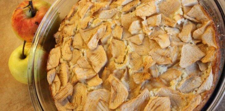 Beatos obuolių pyragas