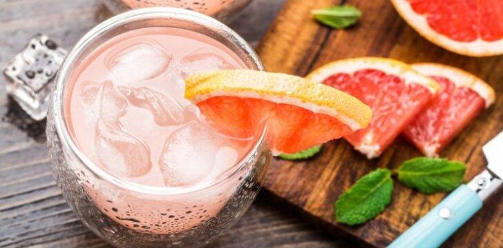 Greipfrutų kokteilis norinčioms gražesnių kūno linijų
