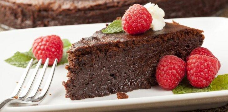 Gardus šokoladinis pyragas