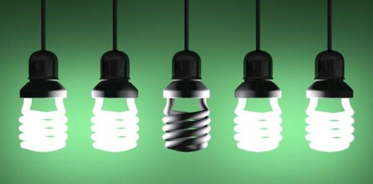 Blyksinčios ir perdegančios lemputės: priežastys ir sprendimo būdai