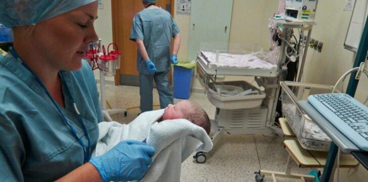 Kada prireikia cezario pjūvio operacijos