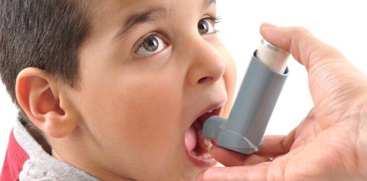 Gydytoja griauna mitus apie brochinę astmą