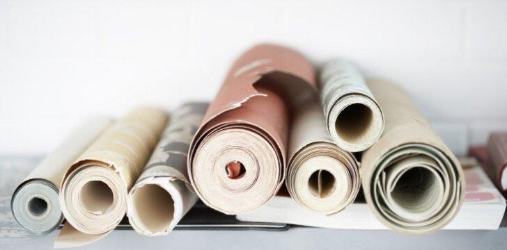 Ar gali dekoratyvinis tinkas pakeisti tapetus?