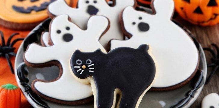 Riešutiniai Helovino sausainiai
