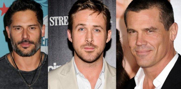 """<span style=""""color: #c00000;"""">Ryan Gosling</span>, Joe Manganiello ar Josh Brolin: kuris būtų tavo superherojus?"""