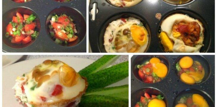 """Kiaušinienė keksiukuose patiks ne tik vaikams <sup style=""""color: #ff0000;"""">(FOTO)</sup>"""
