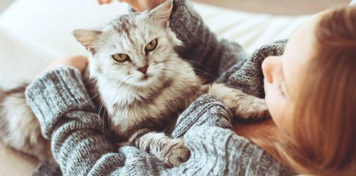 Kaip prislopinti alergiją naminiams gyvūnams