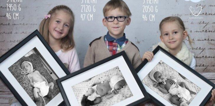 Jaudinanti fotosesija atskleidžia per anksti gimusių vaikų ryžtą gyventi